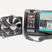Yakee DC18RC caricabatterie agli ioni di litio 3A 6A ricarica per Makita 14.4V 18V Bl1830 Bl1430 Dc18Ra alimentazione elettrica DC18Rct porta USB