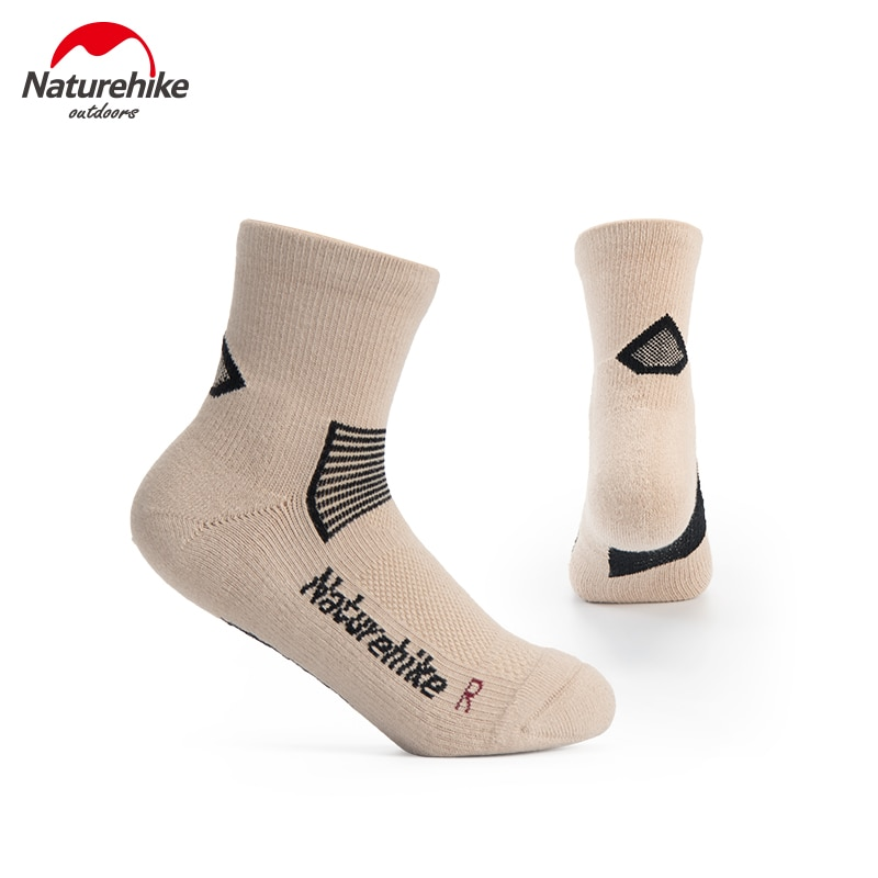Naturehike Outdoor Sport Socks 2 Pairs Quick Drying Breathable Fitness Sock For Camping Running Hiking Climbing Cycling