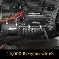 12000 lb nylon winch spider winch 12000 pounds portable self rescue off road 12v vehicle mounted 12000 electric winch