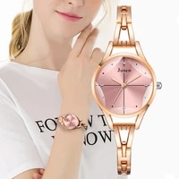 cut surface design luxury fashion 2021 brand women bracelet watches rose gold silver stainless steel female wrist watch gifts