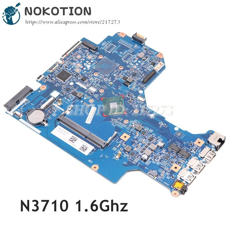 NOKOTION 925621-601 925621-001 16897-1 448.0C801.0011 ل HP 17-BS 17-BS001DS اللوحة المحمول SR2KL بنتيوم N3710 1.6Ghz وحدة المعالجة المركزية