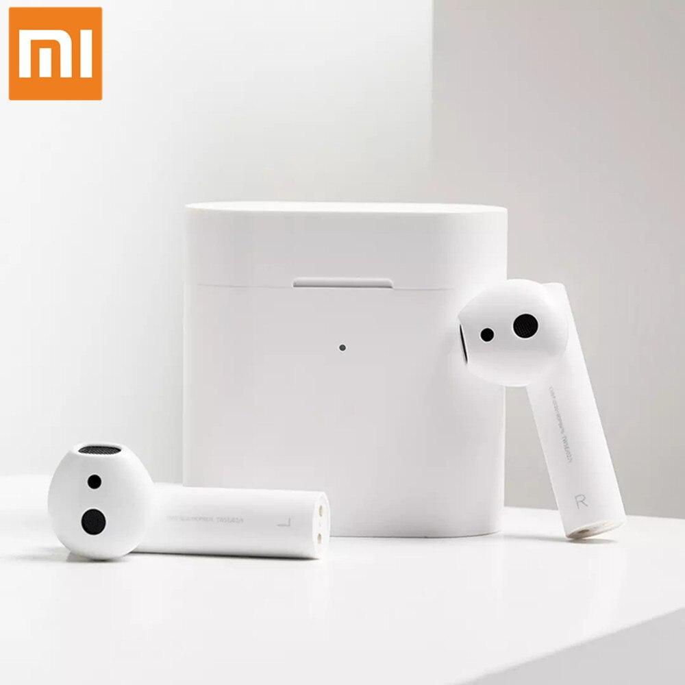 Nuevo Xiaomi Airdots Pro 2 TWS Bluetooth 2 Mi verdadero auricular inalámbrico 2 Control de voz inteligente LHDC Tap Control Dual MIC