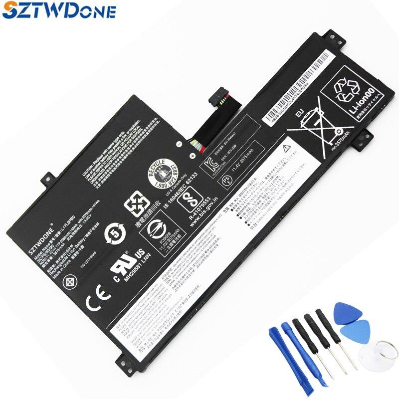SZTWDONE Laptop Battery For Lenovo L17L3PB0 L17M3PB0 L17C3PG0 11.4V 42WH