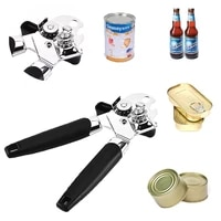 stainless steel can opener portable with handle can opener high quality professional manual can openers kitchen supplies