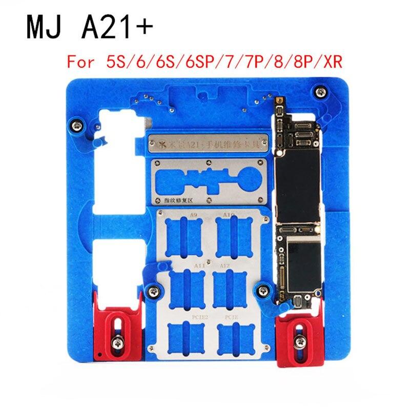 Mj a21 + a22 + dispositivo elétrico fixo de múltiplos propósitos para iphone 5S/6/6s/6sp/7/7p/8/8p/xr nand pcie placa lógica chip dispositivo elétrico