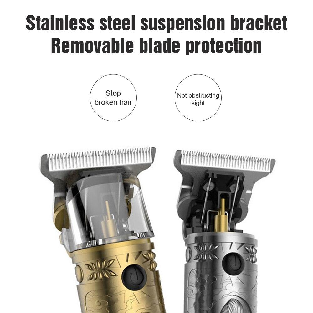 Hair Trimmer Barber Hair Clipper Cordless Hair Cutting Machine Beard Trimmer Shaving Machine Wireless Electric Razor Men Shaver enlarge