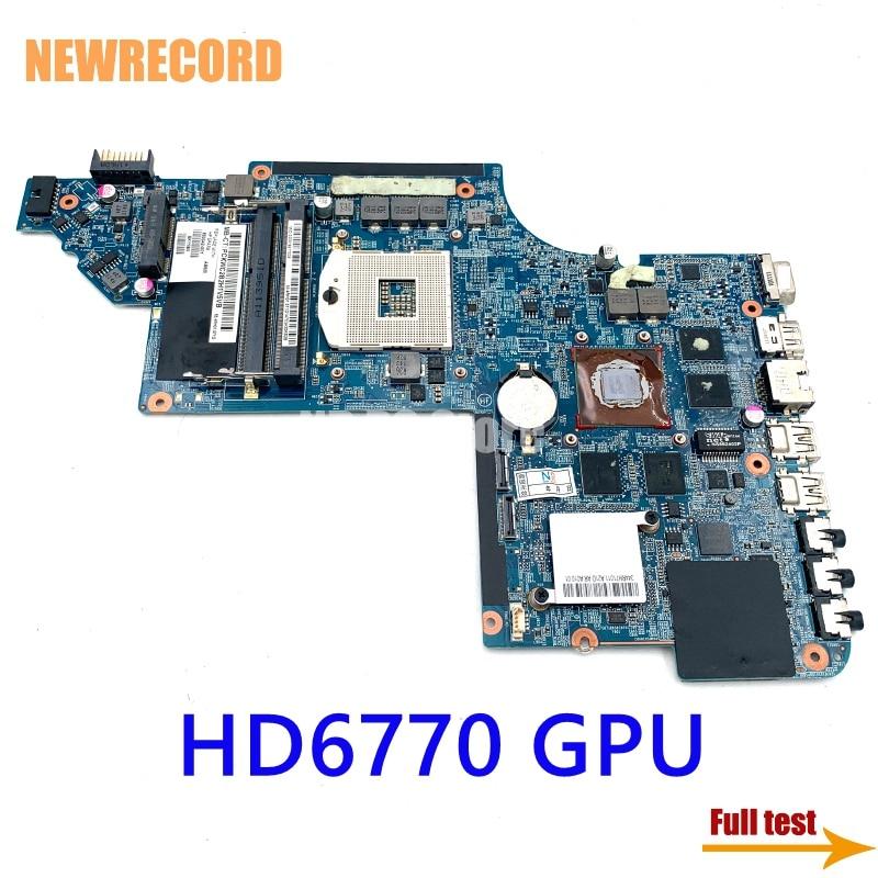 نيوسجل 665342-001 665342-601 659148-001 ل HP بافيليون DV6T DV6-6000 اللوحة المحمول HD6770 GPU DDR3 اللوحة الرئيسية اختبار كامل
