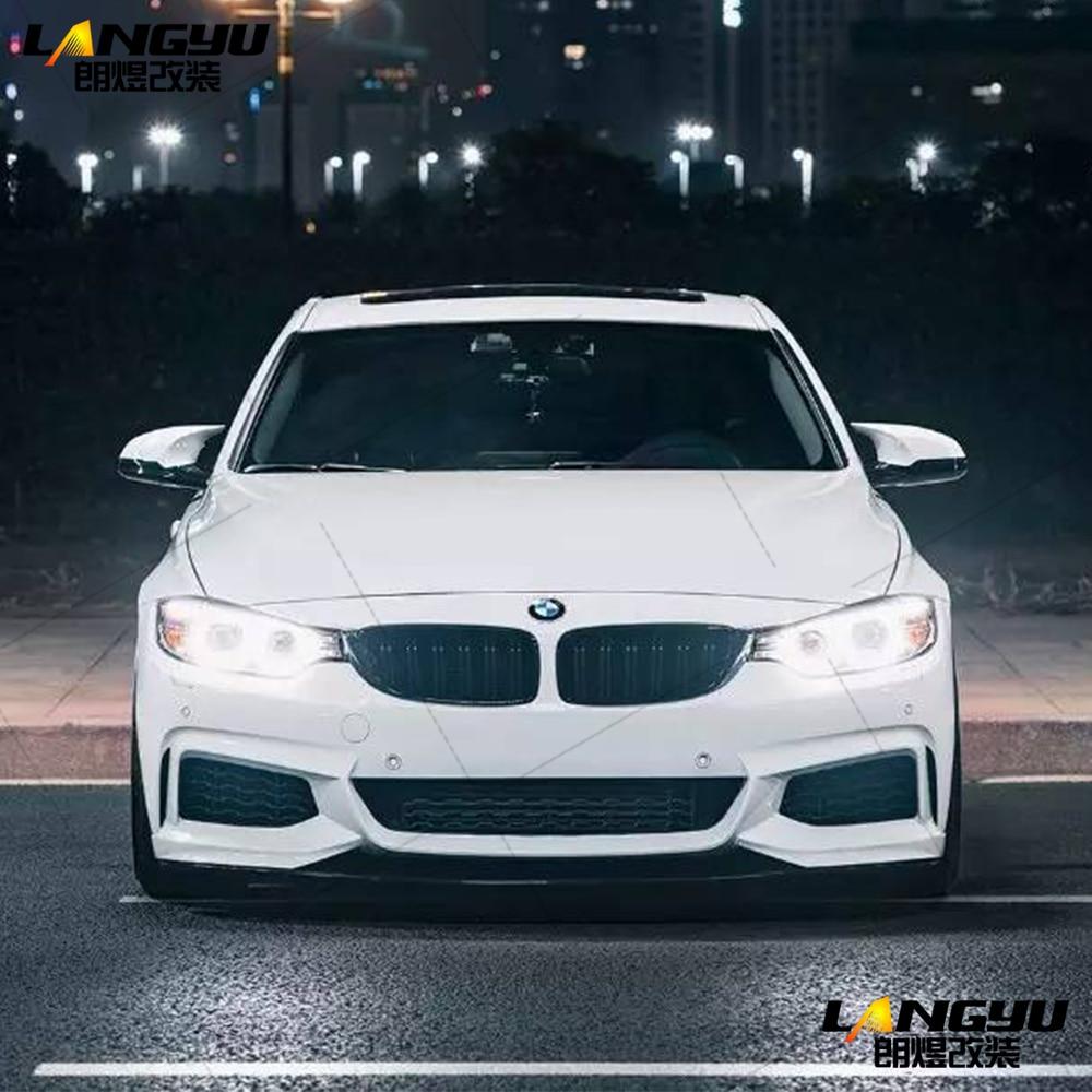 For BMW 3 Series F30 Sedan 4dr 2014 2015 2016 2017 2018 2019 2020 F32 M Performance Style Polypropylene PP Front Body Kit Bumper