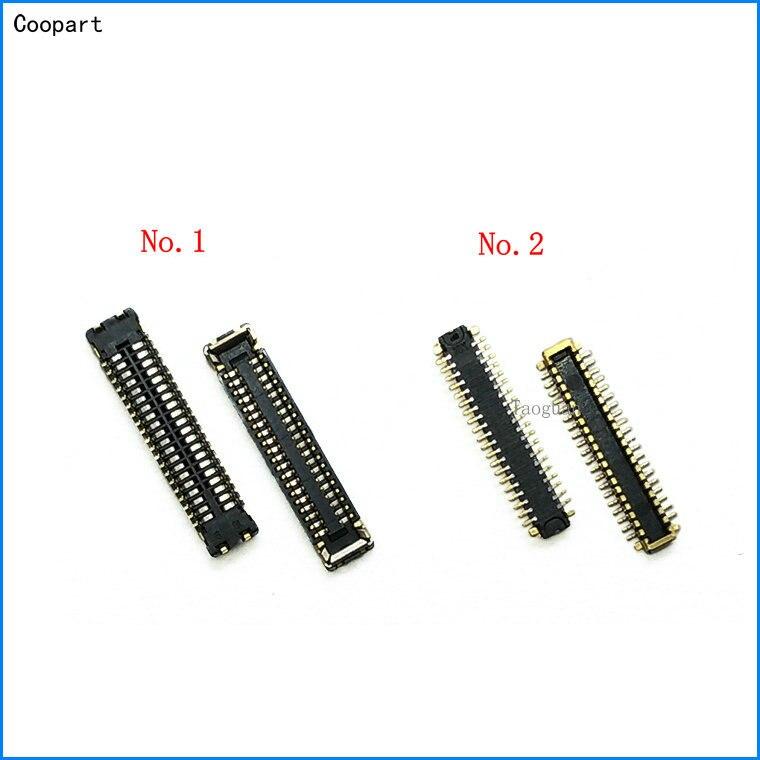 Новый ЖК-дисплей Coopart, 2 шт./лот, разъем разъема FPC для материнской платы/кабеля для Meizu PRO6 pro 6/MX6pro MX6 pro, замена