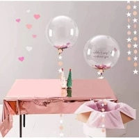 waterproof aluminum foil tablecloth metal plastic tablecloth used for party decoration birthday wedding background wall