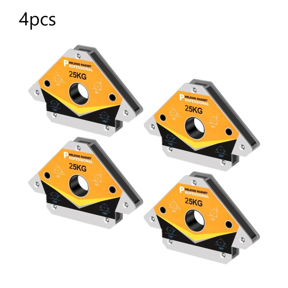 4pcs/set Magnetic Welding Holder Corner Positioner Soldering Locator for Angle Soldering Arrow Fixture Tools