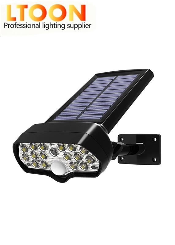 Niewe Solar 16Corey Led PIR Bewegingssensor Lichten наружная Водонепроницаемая Ip65 Muur Солнечная licht Voor Tuin Yard лампа аварийная
