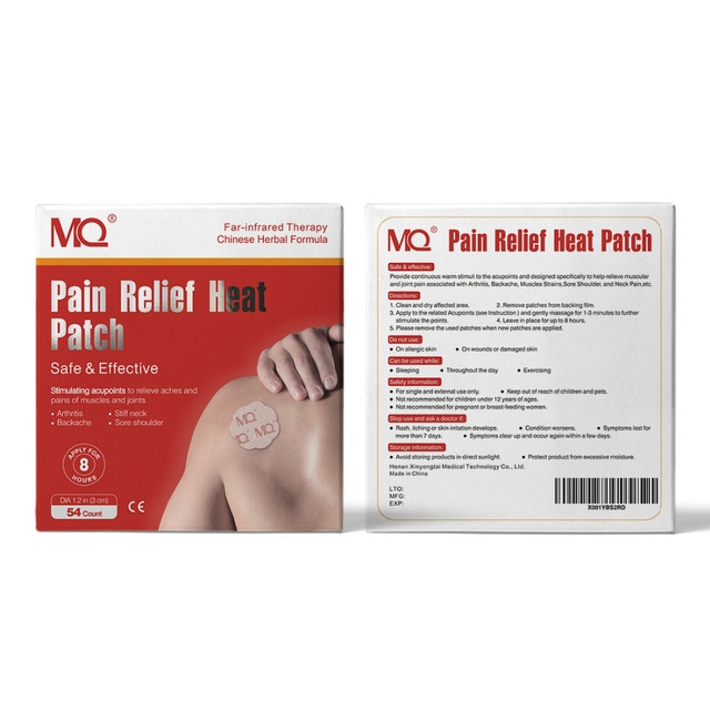 54pcs analgesic patch stimulates acupoints to relieve pain in the neck, shoulder, back, hip joint muscles, knees and feet 8