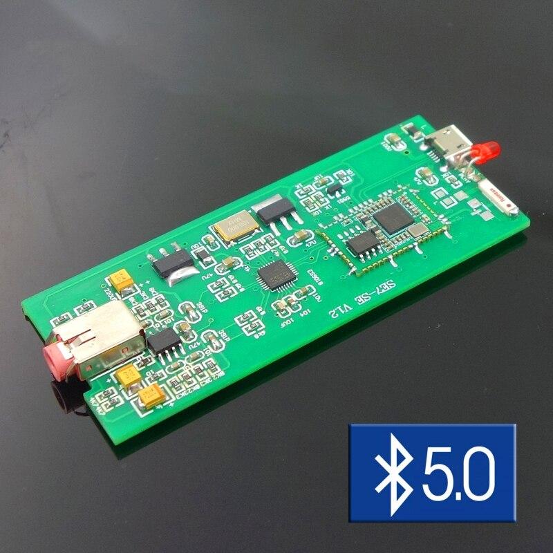 Decodificador de tarjeta de audio externo ES9018K2M, con Bluetooth 5,0, USB, portátil, DAC, para WN7, WIN8 y WIN10, amplificador para ordenador