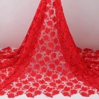 pgc nigerian guipure lace water soluble fabrics 2021 high quality chiffon lace embroidered african cord lace fabric ya4058b 6