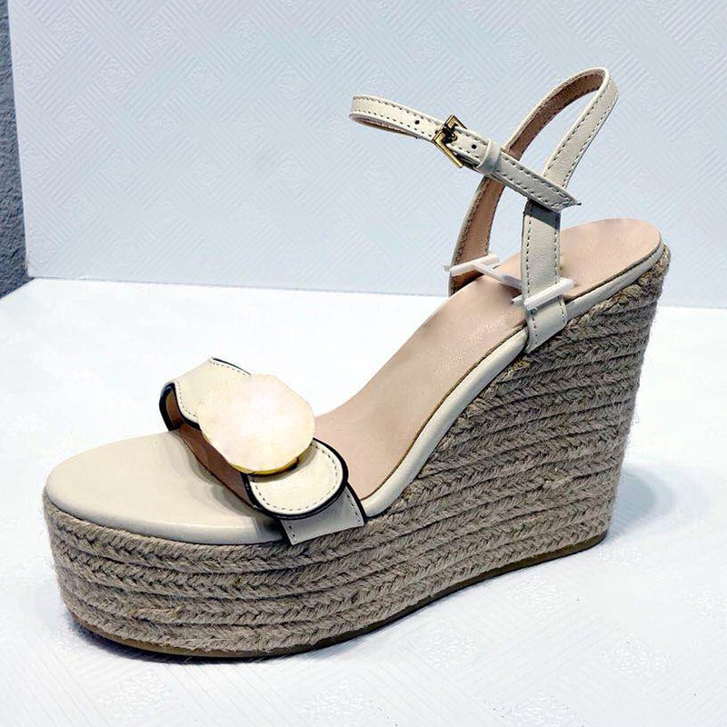2021 summer women Platform Luxury designer sandals Ankle Wrap Shoe womens Party Heels Shoes Soft Leather Buckle Strap Solid enlarge