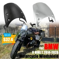 motorcycle parts headlight fairing windshield deflector windscreen cover for bmw r nine t r9t r ninet r 9 t racer pure 2014 2020