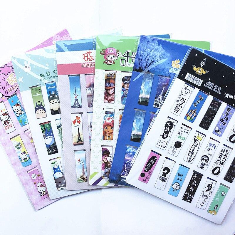 18-pz-set-gatto-cuore-segnalibro-magnetico-luminoso-simpatici-animali-del-fumetto-quotidiano-magnete-libro-di-mark-regalo-dei-bambini-segnalibri-per-i-libri