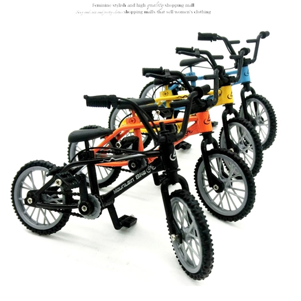 Mini-finger-bmx Set Bike Fans Toy Alloy Finger BMX Functional Kids Bicycle modle Finger Bike Excellent Quality Bmx Toys Gift