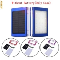 hot sale powerbank portable pover power bank 18650 solar power bank box diy box dual usb kit mobile phone charger flashlight