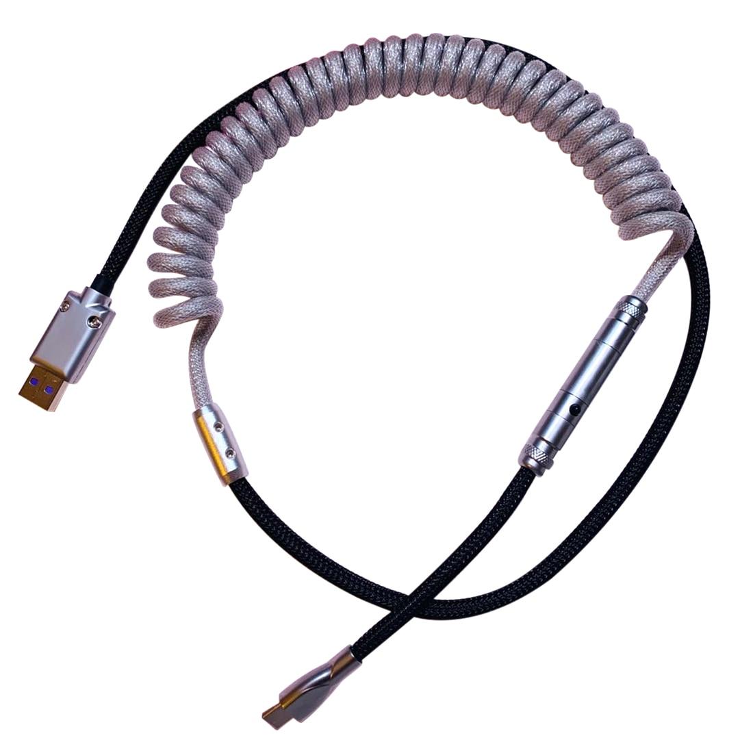 Cable USB tipo C personalizado, hecho a mano, con conector XRL para...
