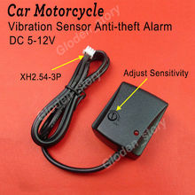 DC 6V-12V Anti-theft Security Alarm System Burglar Alarm Bicycle Motorcycle Car