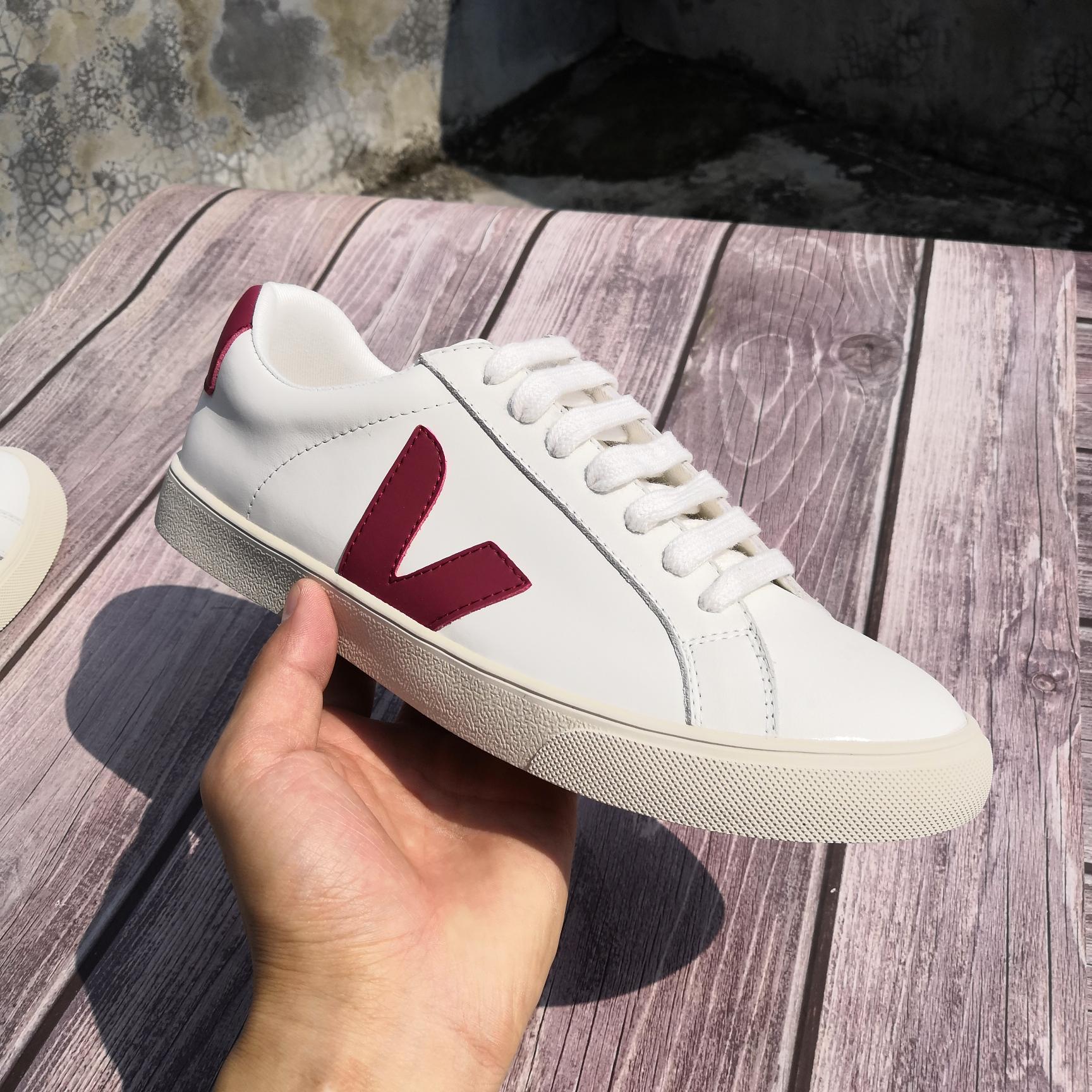 VEJA New original Brand Womens Designer Sneakers Mens Breathable Outdoor Non-slip White Shoes Vulcanized Couple Unisex Shoes
