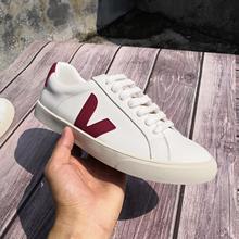 VEJA New original Brand Womens Designer Sneakers Mens Breathable Outdoor Non-slip White Shoes Vulcan
