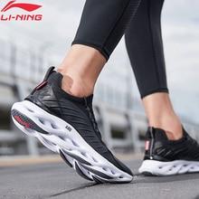 Li-ning hommes LN ARC coussin chaussures de course respirant Mono fil doublure Li Ning Stable soutien Sport chaussures baskets ARHP073 XYP930