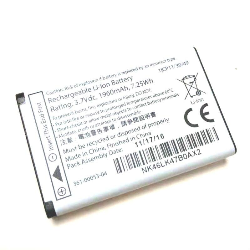 Westrock-بطارية Garmin Garmin Alpha 2000 محمولة ، 361 مللي أمبير ، 00053-361-00 00053-100-04 ، E1GR/VIRBELITE E2GR/VIRBELITE