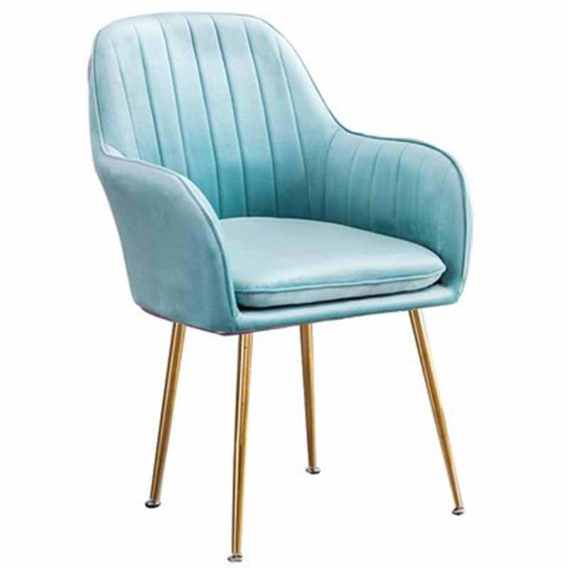 U-shapedDining chairs nordic ins minimalist Armchair home dining room furniture Soft chair modern Light luxury backrest leisure
