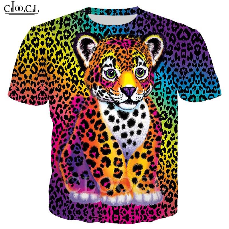 Animal Piebald Little Tiger camiseta hombres mujeres 3D estampado Macaw Hippie corta Hipster manga sudadera ropa informal estilo Hip Hop Tops T453