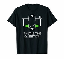 مهندس كهربائي لتكون أو لا لتكون سلم المنطق مضحك قميص أسود S-3Xl الأزياء بارد المحملة قميص
