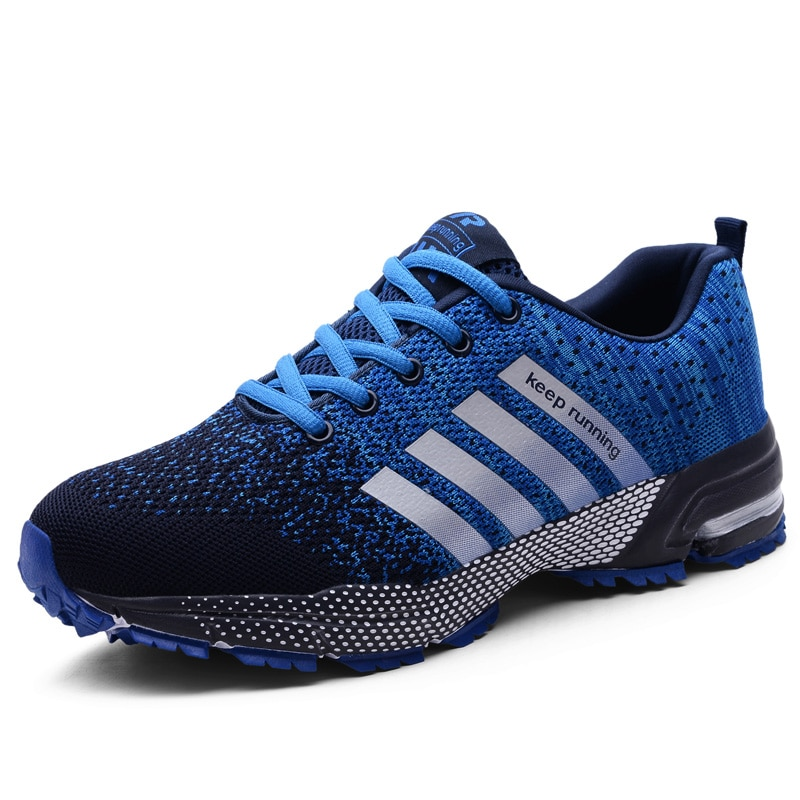 Men Running Shoes Breathable Outdoor Sports Shoes Lightweight Women Flats Casual Comfortable Couple