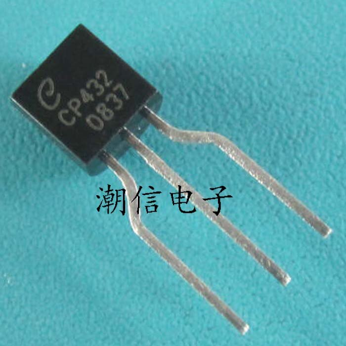 Трехконтактный регулятор напряжения TL432 CP432 the TO - 92
