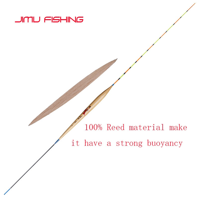 Brand New High Quality Floats Reed Material Fishing Tackle Vertical Boya Shallow Water Bobber Carp Fishing Tackle Accessories enlarge