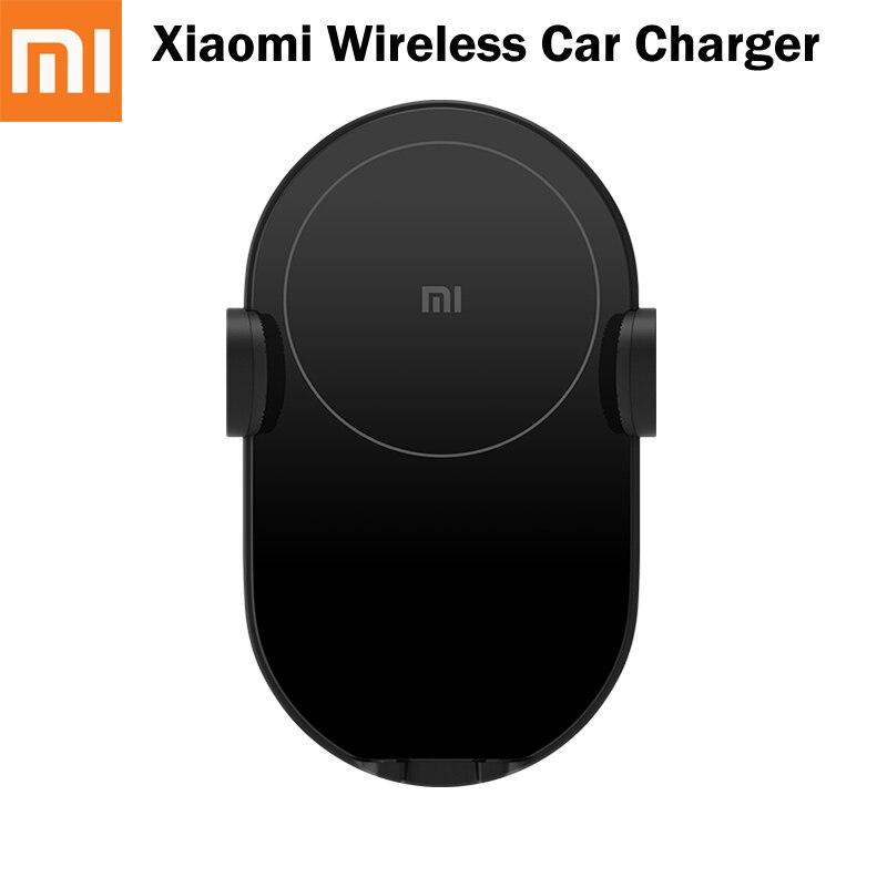 Cargador rápido Original Xiaomi 10W Mi Universal coche inalámbrico cargador carga rápida coche eléctrico Auto pinza soporte de teléfono para Huawei