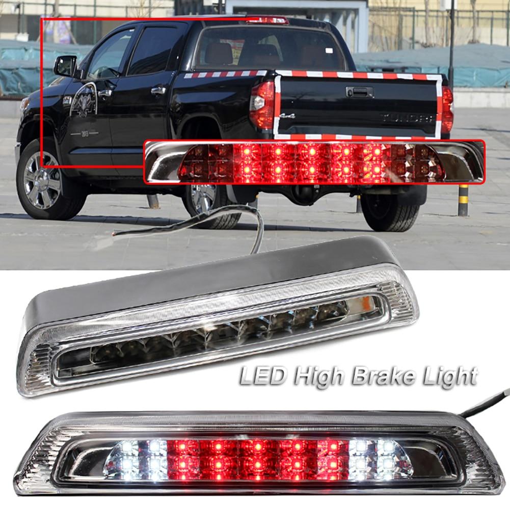 LED COCHE tercera luz de freno lámpara trasero del camión luz de freno por 07-18 Toyota Tundra 81570-0C050