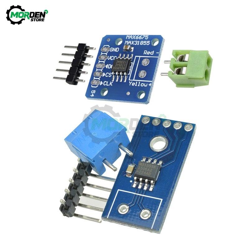 Módulo de termopar tipo MAX31855 K, Módulo sensor de temperatura para Arduino DIY Kit