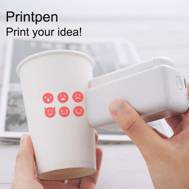 EVEBOT Printpen Handheld Printer DIY Inkjet Pen Tattoo Device Mini Small Portable Clothing Custom Label Printing Machine #R30