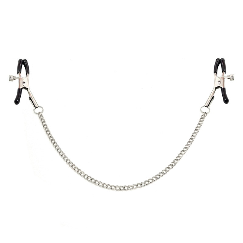 1 Pair Sex Breast 6 Colour Nipple Clamp Clips Chain Nipple Clip Shaking Clamps Stimulate Women Clip Slaves Adult Games breast clamp clips vibrator for women 20 speeds nipple shaking clamps breast clip sex slaves sex toys stimulate sex shop