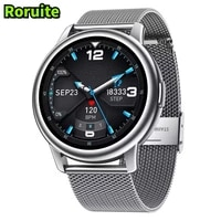 roruite mens smart watch 3 hd full touch screen sports fitness ip68 waterproof smartwatch suitable for men and women huawei ios