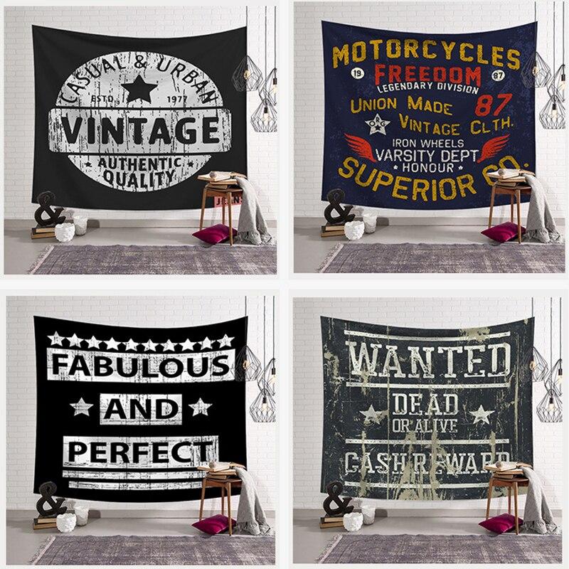 В стиле панк настенный гобелен эстетическое цифровая печать гобелены пляжные Полотенца настенный покрывало домашний декор для Гостиная