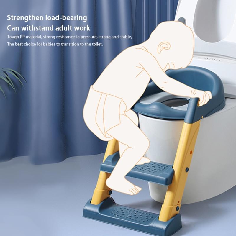 Portable Folding Toilet Seat Potty Chair Kids Child Non-Slip Potty Training Seat hot