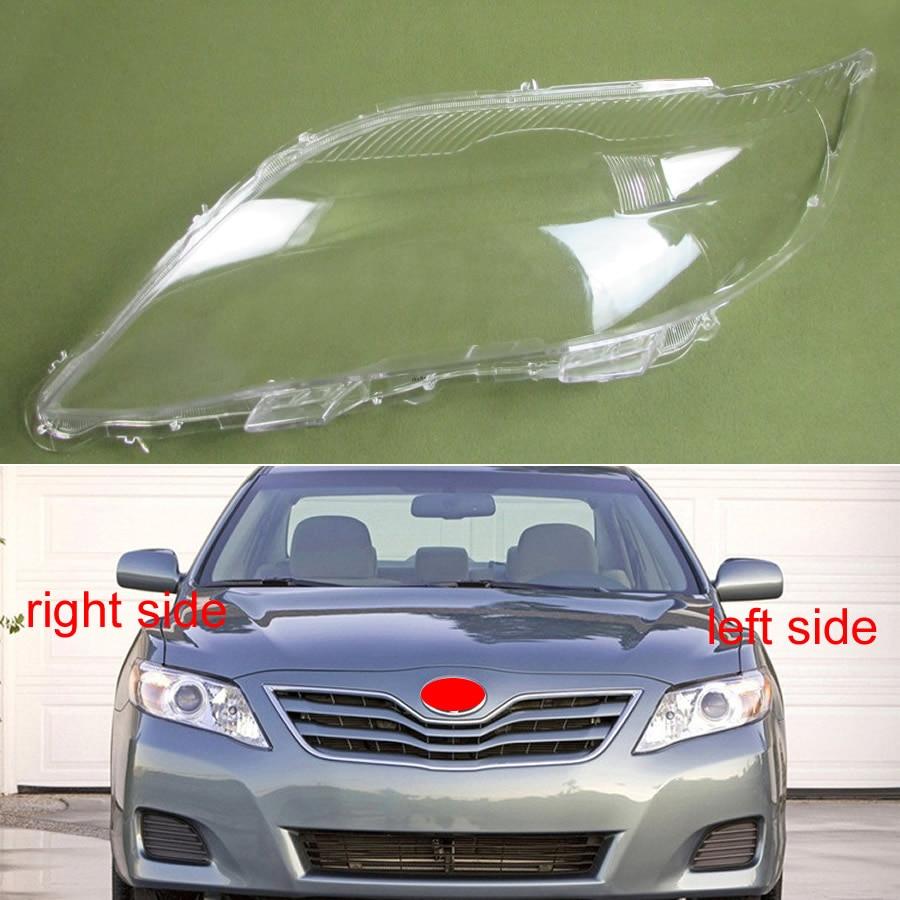 Para toyota camry 2007 2008 2009 2010 abajur lâmpada transparente importado farol capa da lâmpada escudo do farol