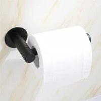 Rouleau de papier de cuisine auto-adhesif  support mural en acier inoxydable  accessoires de salle de bains  porte-serviettes