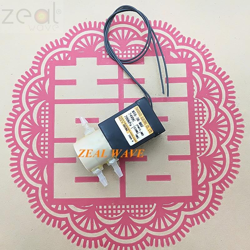 Für Importiert TAKASAGO Hohe Sand Miniatur DC Drei-Wege-Magnetventil WTB-3R-M6F 24VDC 200KPa