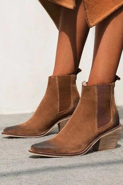 2020 moda inverno sapatos de couro genuíno ankle boots para as mulheres botas de salto alto sexy apontou toe mulher botas mujer botte femme