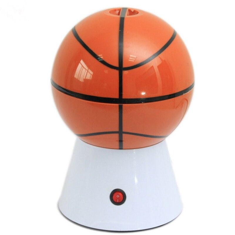 Eléctrica máquina de palomitas de maíz de baloncesto-forma palomitas de maíz Máquina de palomitas de maíz Popper regalo de los niños casa parte