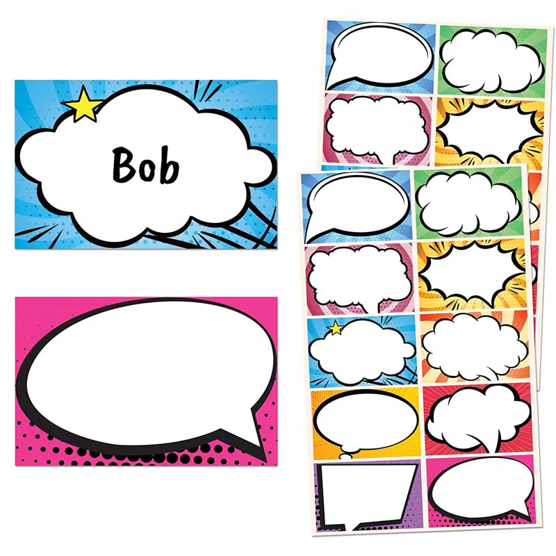 120Pcs Waterproof Colorful Name Tags Label Stickers for Hospital Kindergarten Classroom School Office Home